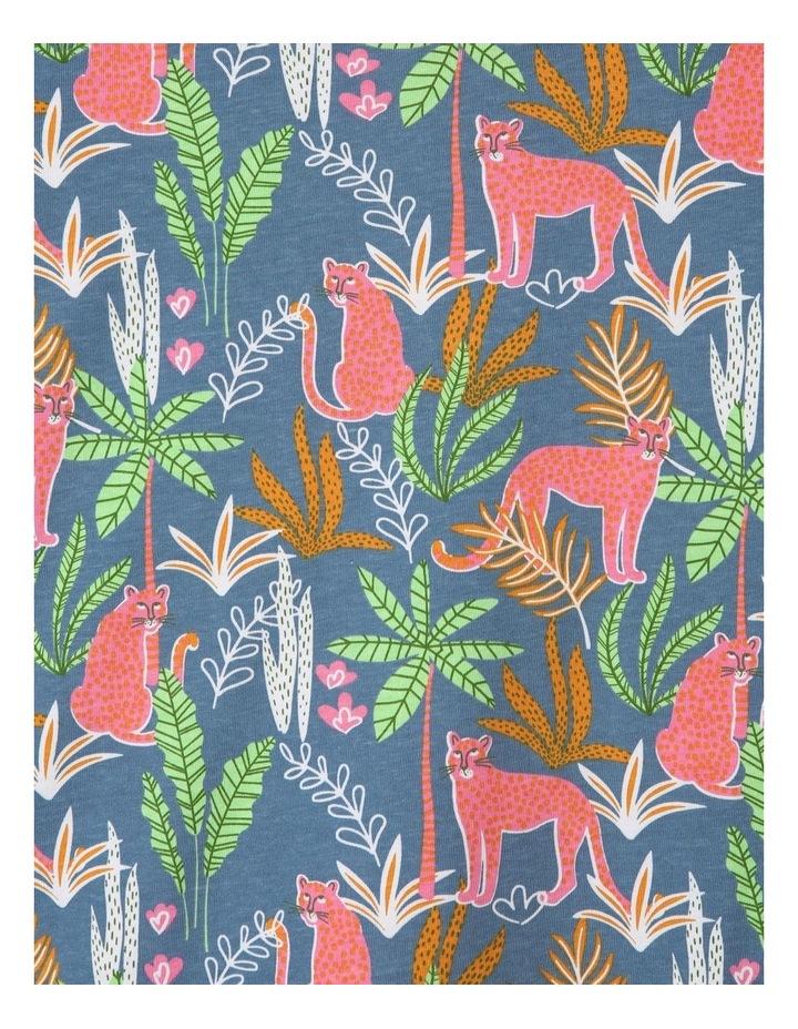 Jungle Wildcats Blue Pyjamas Set image 3