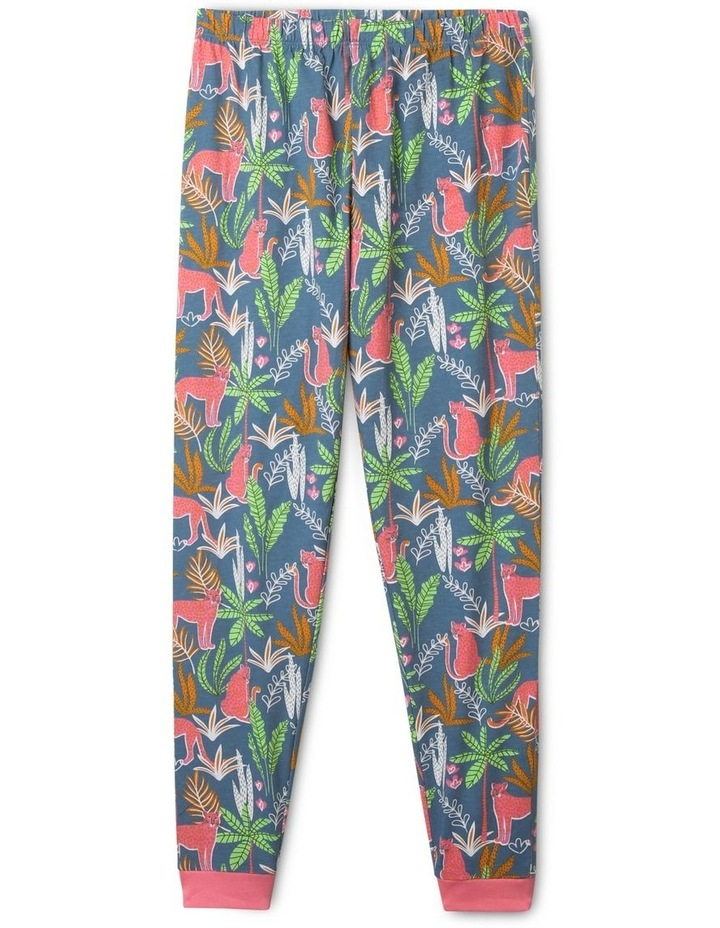 Jungle Wildcats Blue Pyjamas Set image 4