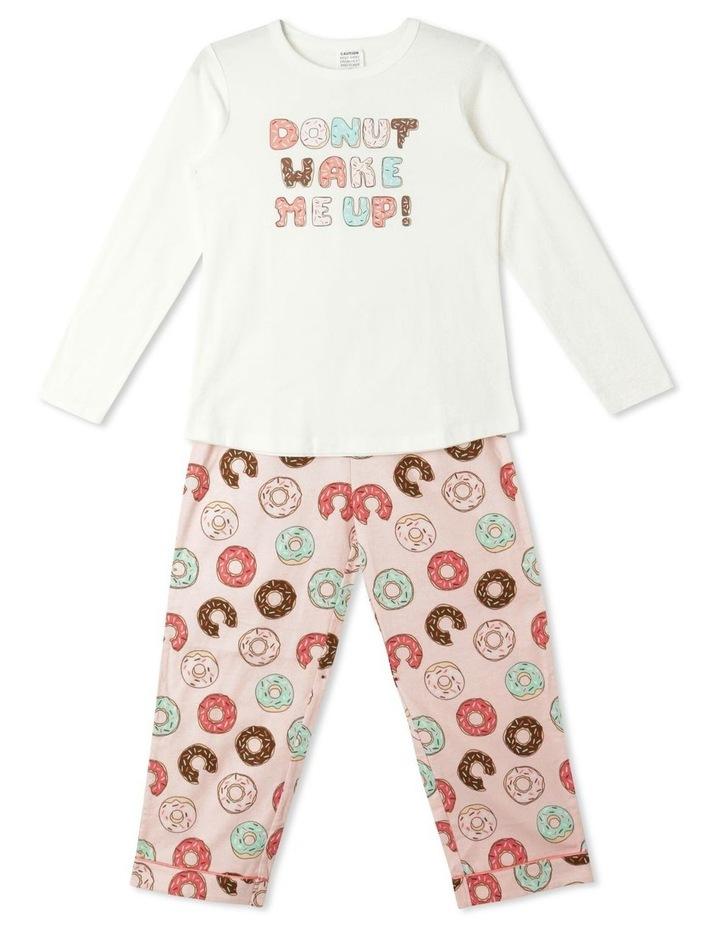 Donut Wake Me Up Pyjama Set image 1
