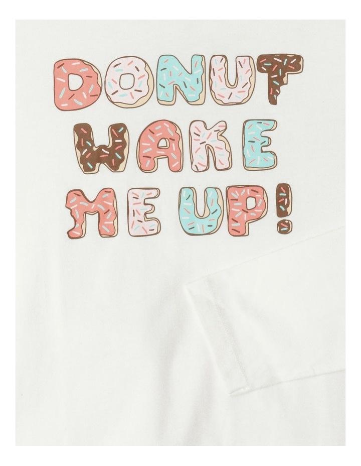 Donut Wake Me Up Pyjama Set image 3