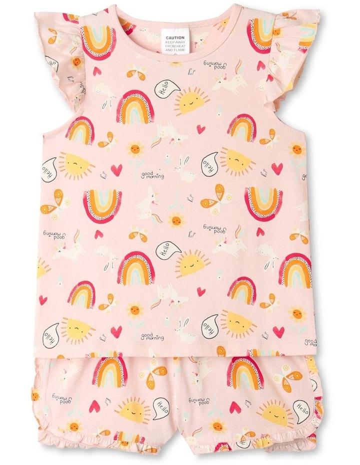 Bunicorn Hop Pale Pink Pyjamas Set image 1