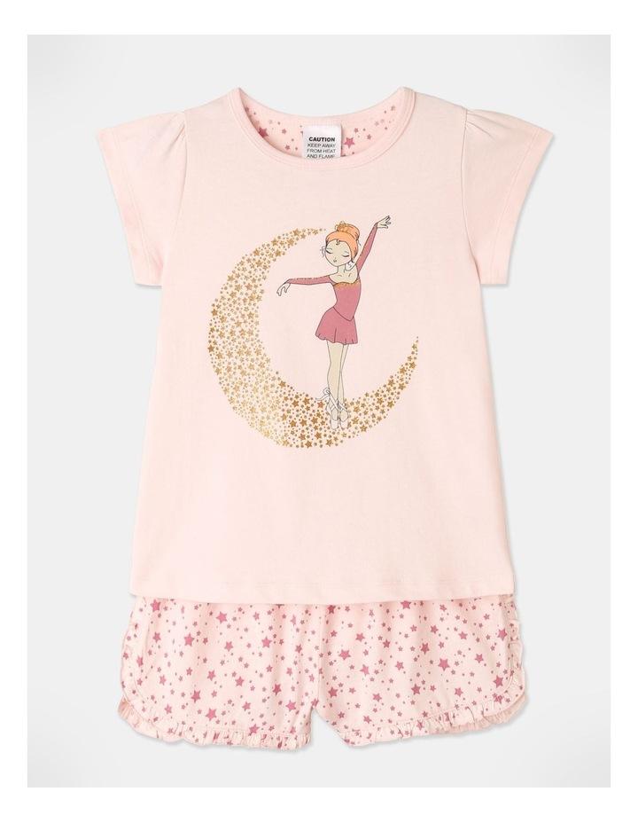 Ballerina On Moon Pyjamas Set Light Pink image 1