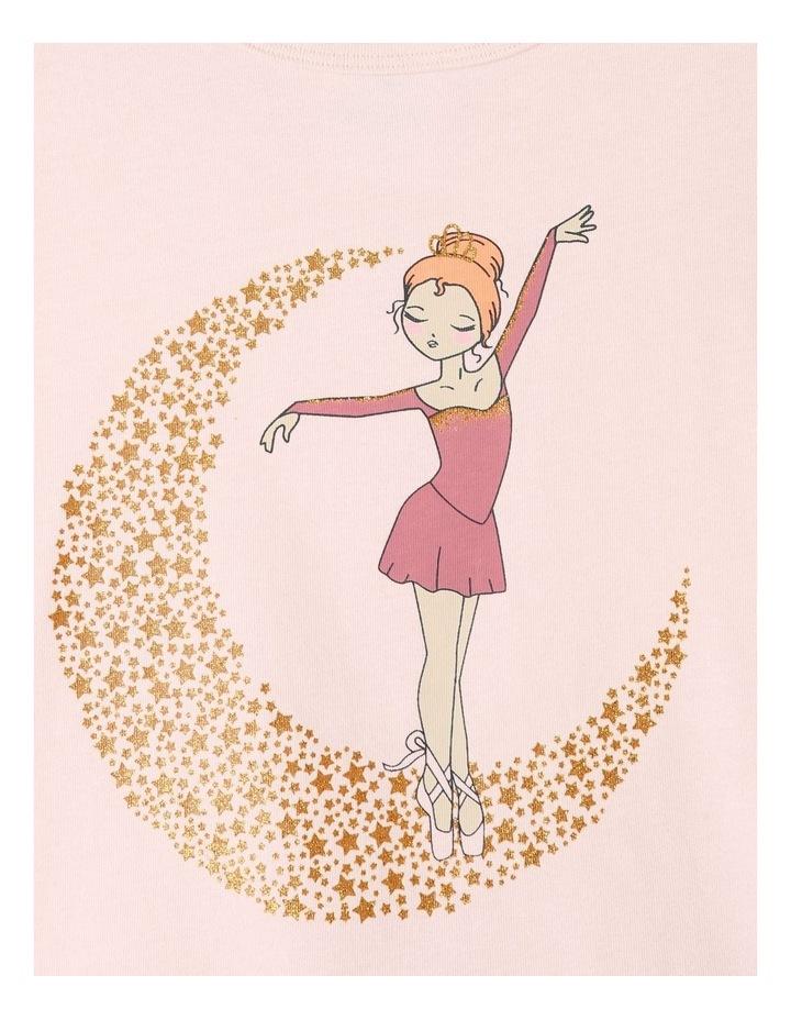 Ballerina On Moon Pyjamas Set Light Pink image 2
