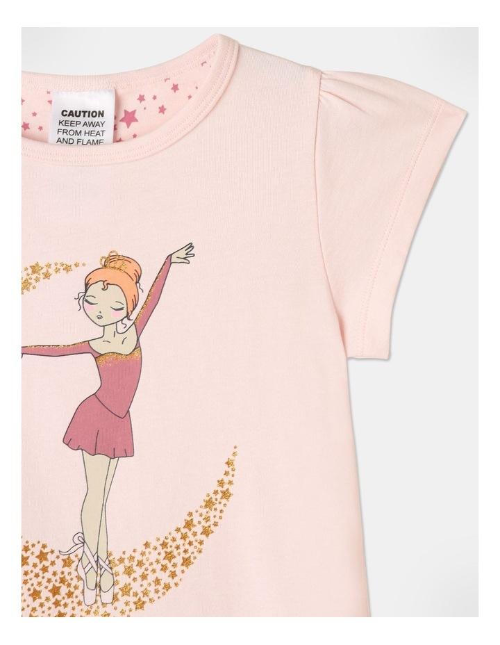 Ballerina On Moon Pyjamas Set Light Pink image 3