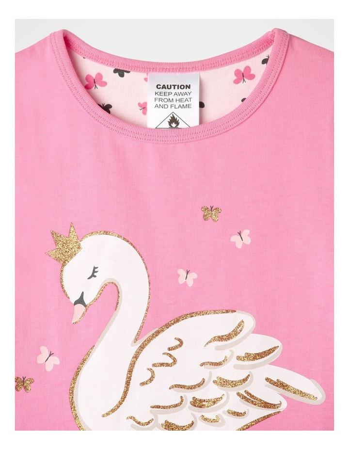 Starry Swan Pyjamas Set Pink image 3