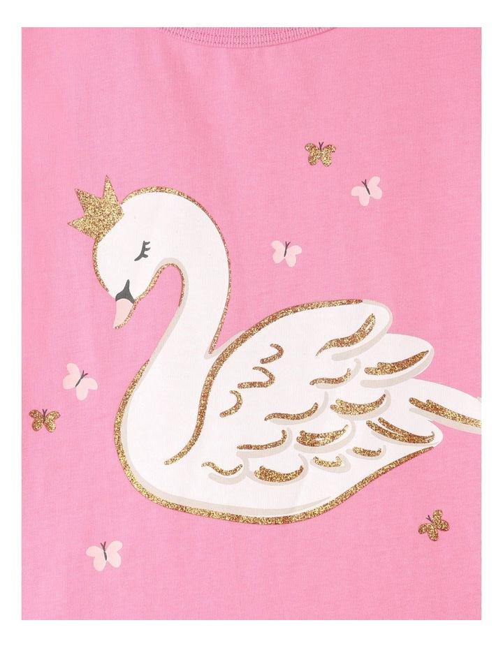 Starry Swan Pyjamas Set Pink image 4