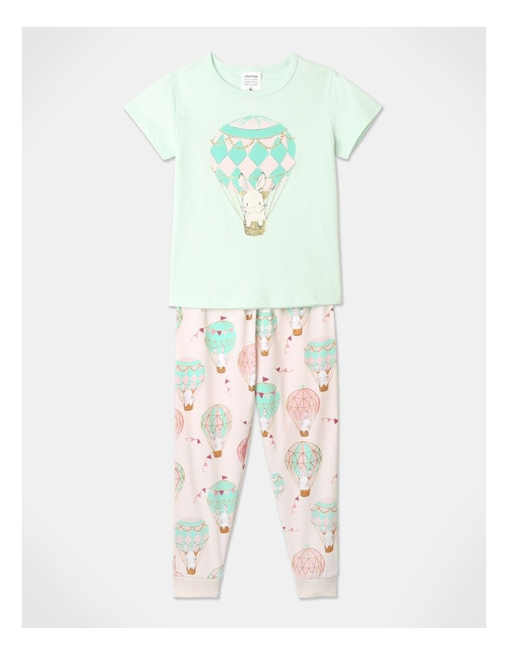 Balloon Bunnies 3-Piece Pyjama Set in Light Pink image 2