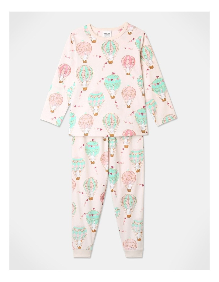 Balloon Bunnies 3-Piece Pyjama Set in Light Pink image 3