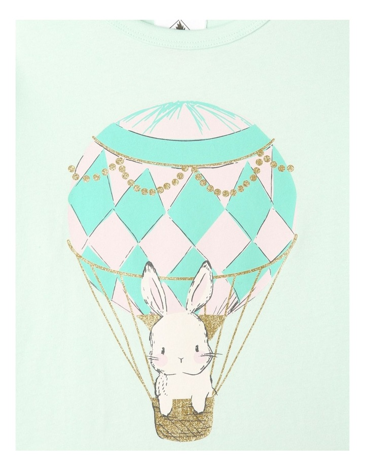 Balloon Bunnies 3-Piece Pyjama Set in Light Pink image 4