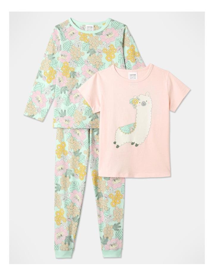 Llama 3-Piece Pyjama Set in Pale Blue image 1
