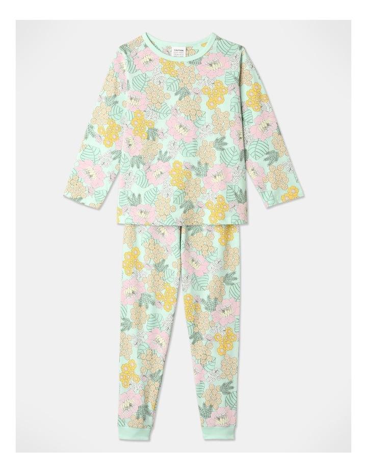 Llama 3-Piece Pyjama Set in Pale Blue image 2