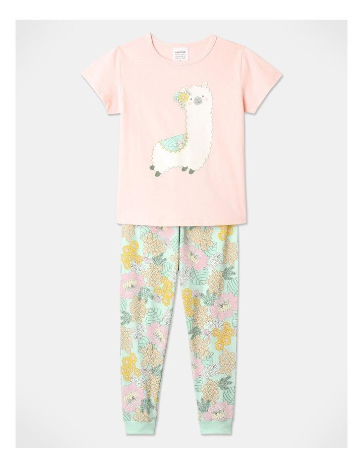 Llama 3-Piece Pyjama Set in Pale Blue image 3