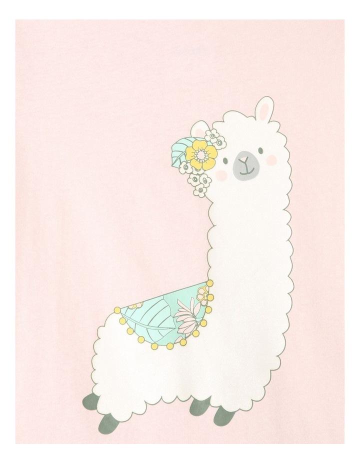Llama 3-Piece Pyjama Set in Pale Blue image 4