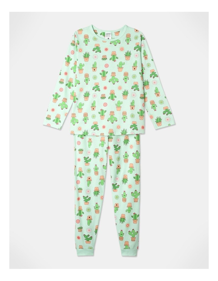 Aloe There 3-Piece Pyjama Set in Aqua image 2