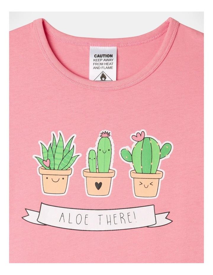 Aloe There 3-Piece Pyjama Set in Aqua image 4
