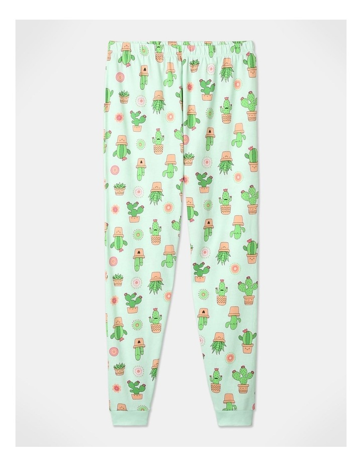 Aloe There 3-Piece Pyjama Set in Aqua image 5