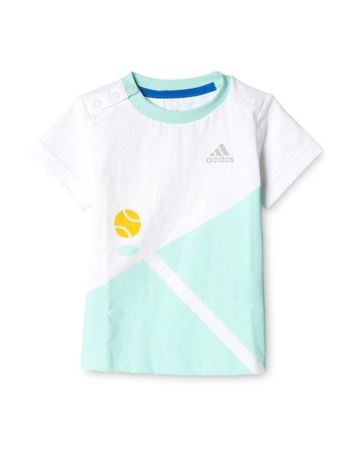 Adidas Summer Boys Set in White image 1