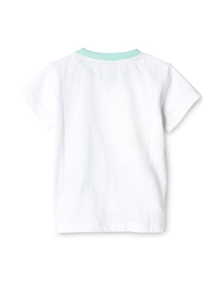 Adidas Summer Boys Set in White image 2