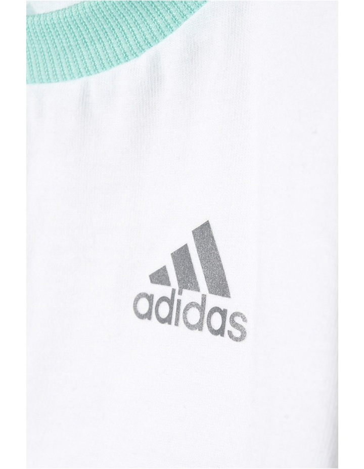 Adidas Summer Boys Set in White image 5