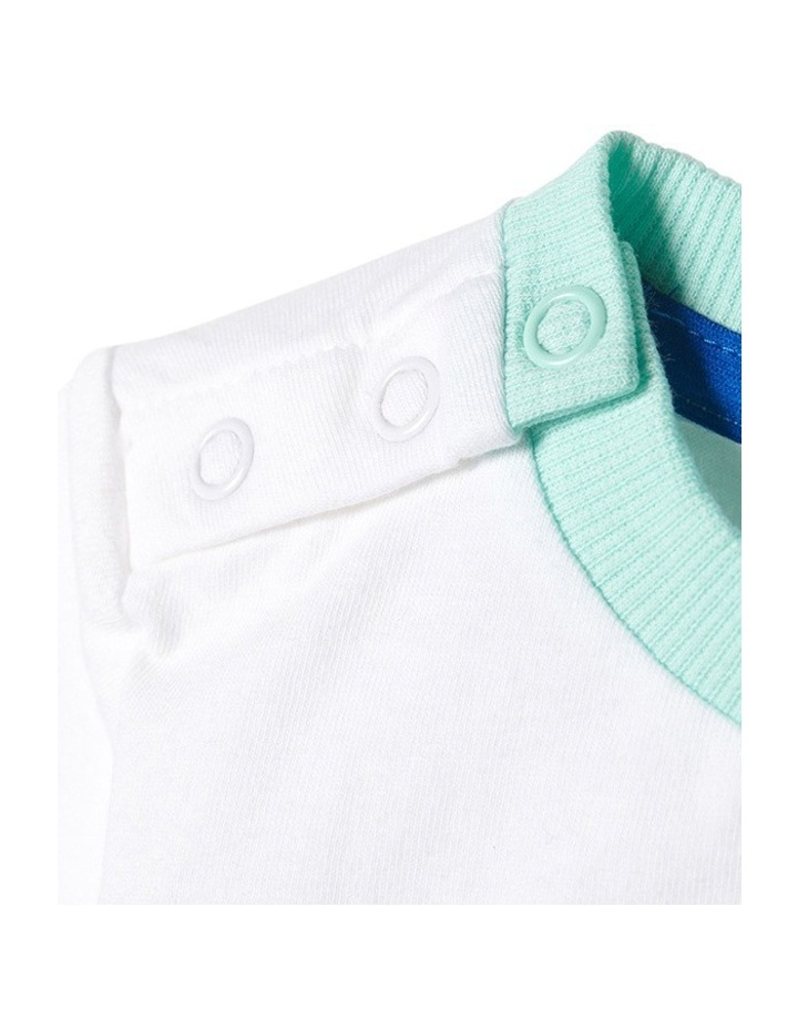 Adidas Summer Boys Set in White image 6