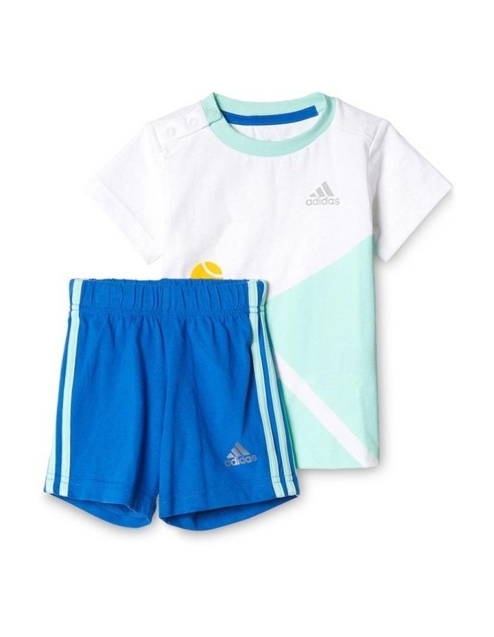 Adidas Summer Boys Set in White image 7