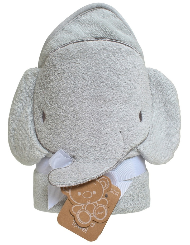 Elephant Hooded Towel image 1