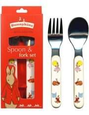 Classic Bunny Melamine Spoon & Fork Set