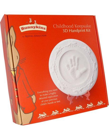 Bunnykins Childhood Keepsake 3D Handprint Kit image 1