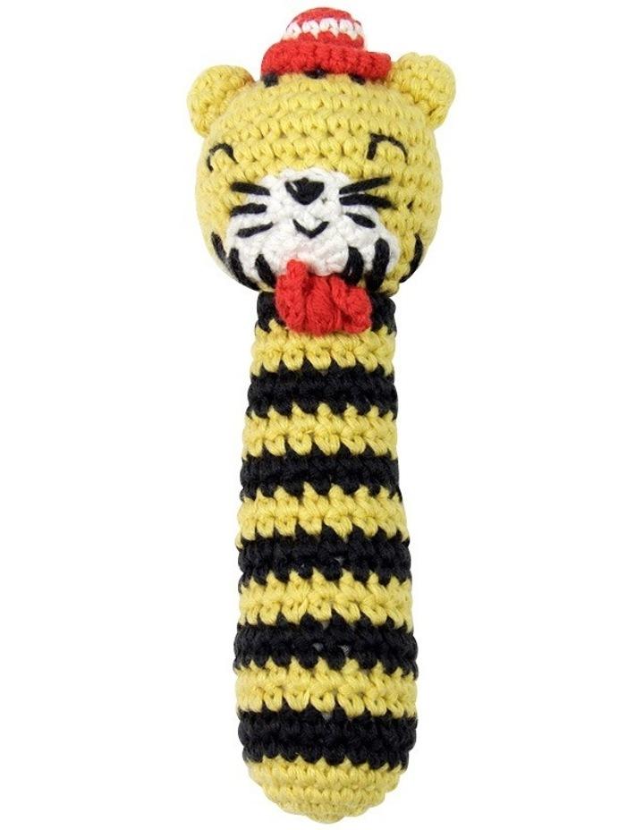 Crochet Rattle - Tricky Tiger image 2