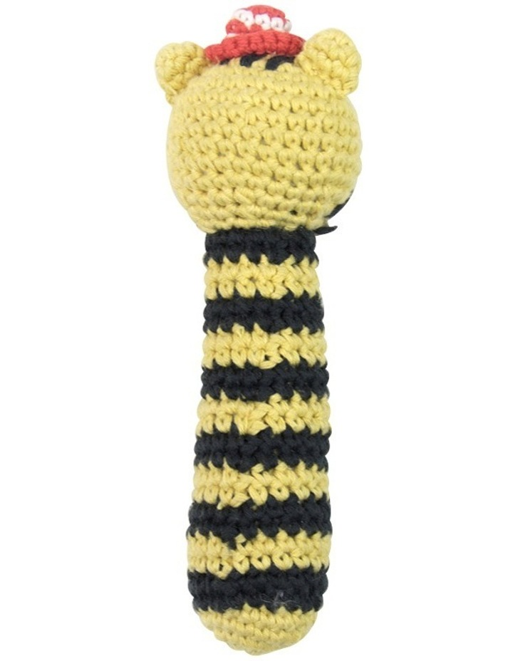 Crochet Rattle - Tricky Tiger image 4