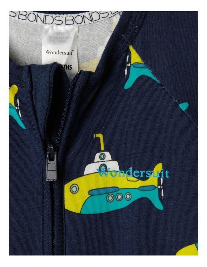 Zip Wondersuit Navy image 3