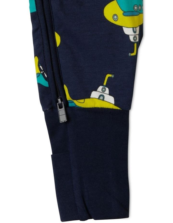 Zip Wondersuit Navy image 4