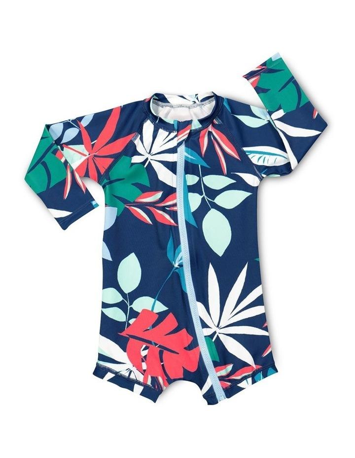 Bonds Baby Swim Long Sleeve Zip Suit image 1