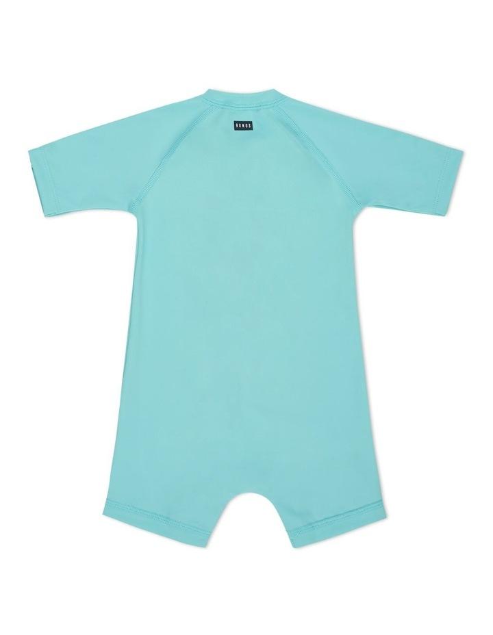 Baby Swim Short Sleeve Zip Suit image 2