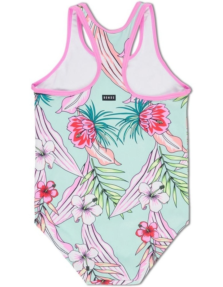 Girls Racerback Swim One-Piece image 2
