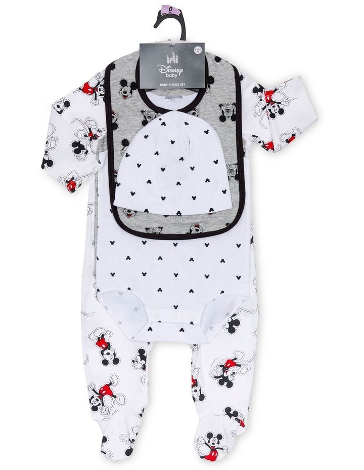 Mickey 5 Piece Baby Gift Set image 2