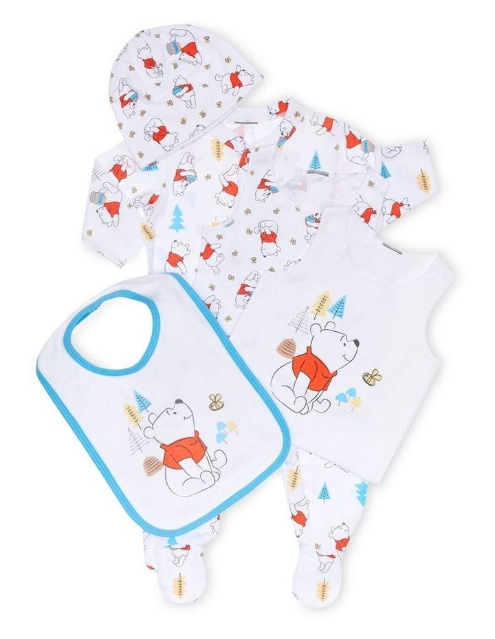 Pooh 5 Piece Baby Gift Set image 1