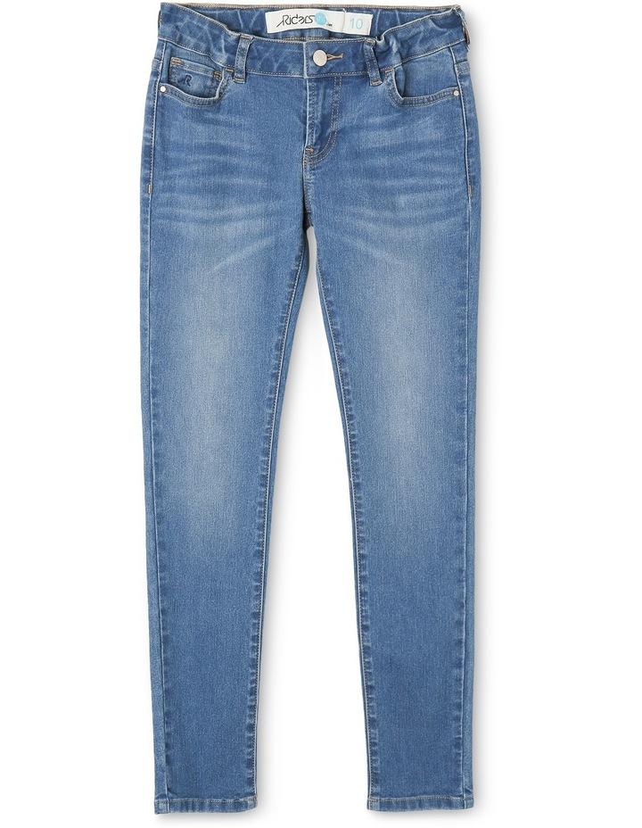 Girls Spray On Mid Skinny Jean image 1