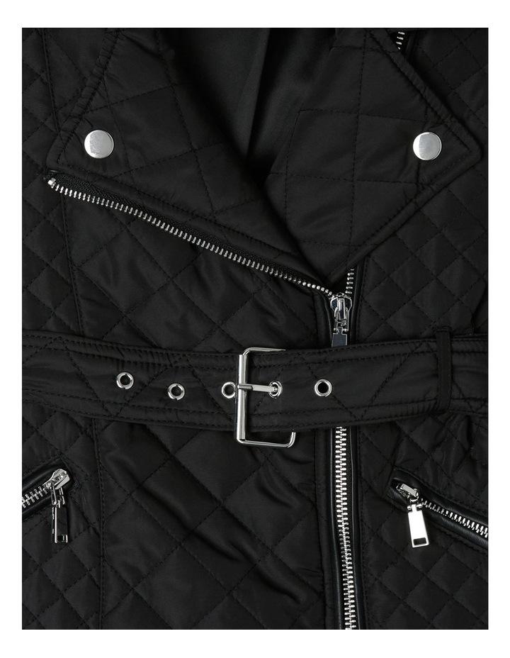 Quilted Fur Coat 3-7 image 2