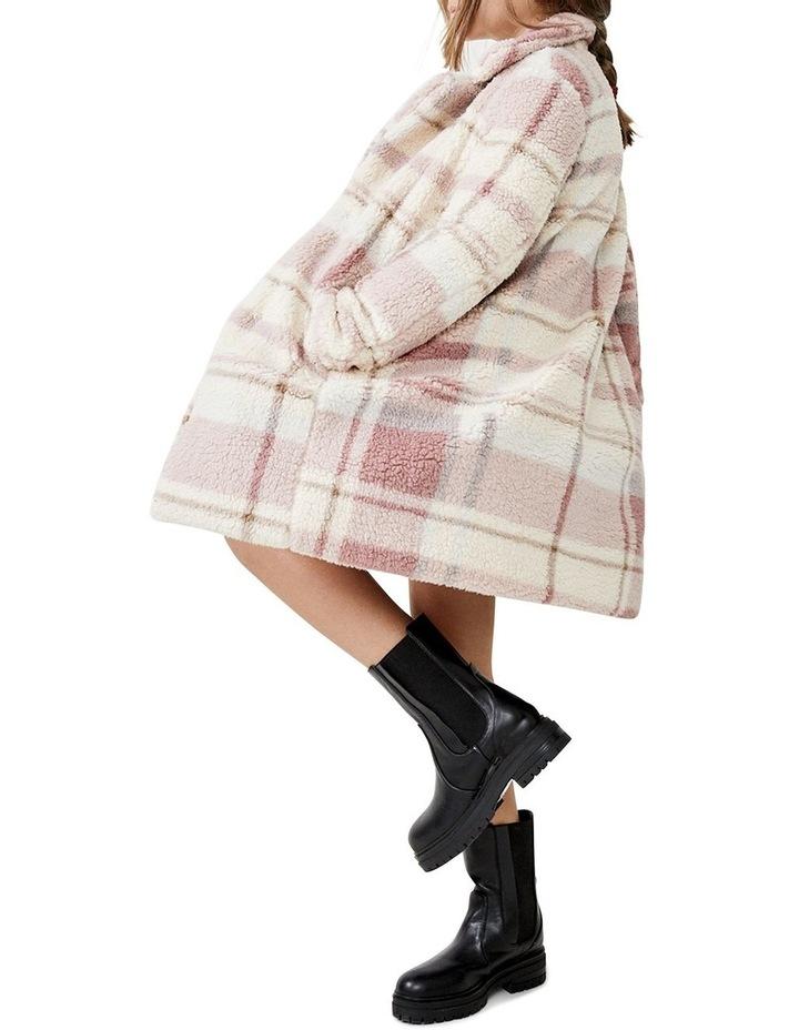 Check Fur Coat image 1