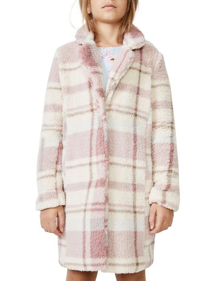 Check Fur Coat image 2
