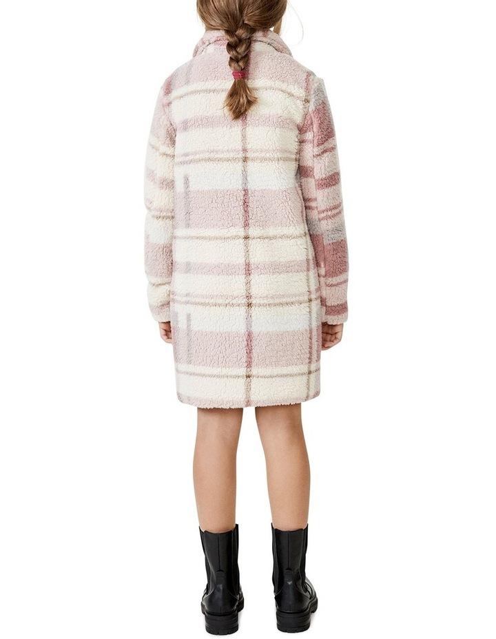Check Fur Coat image 3