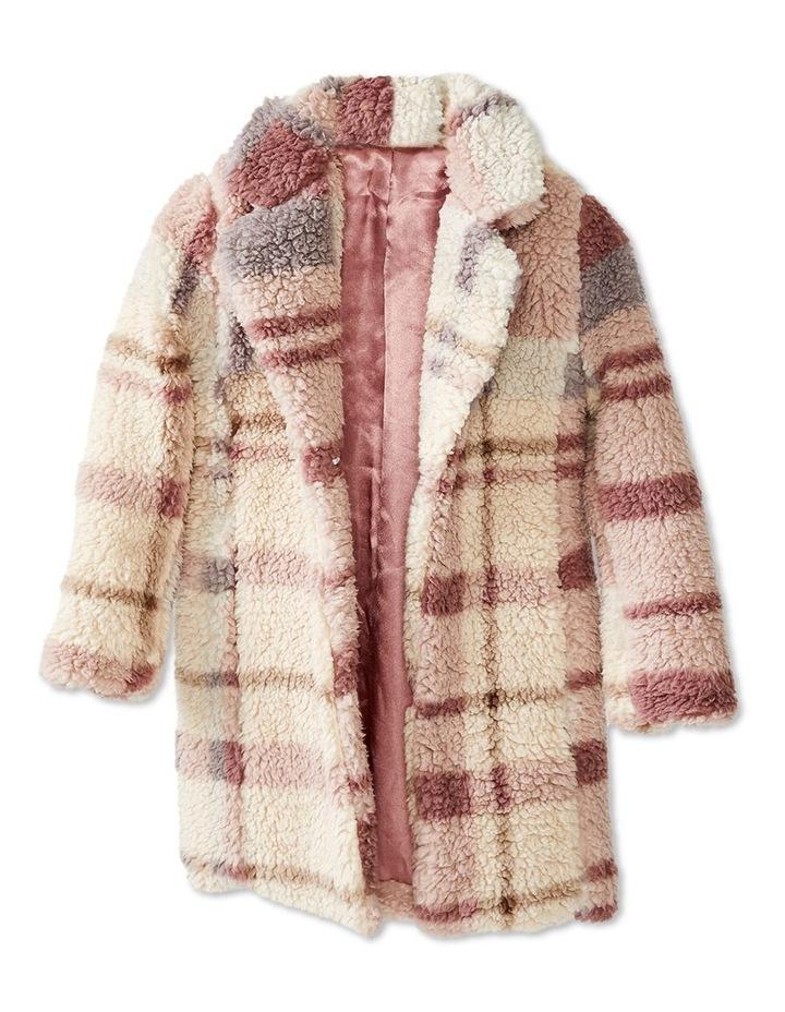 Check Fur Coat image 4