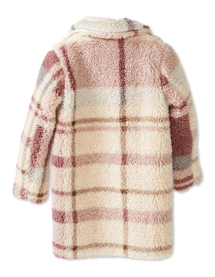Check Fur Coat image 5