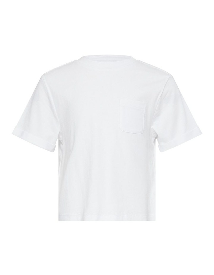 Essential With Pocket T-Shirt White image 1