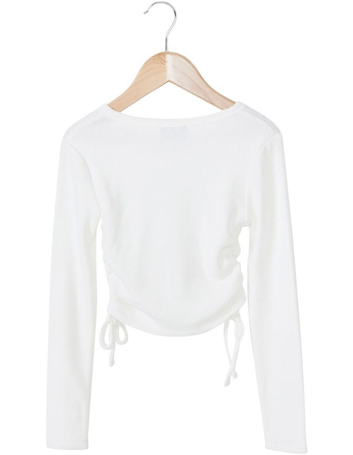 Eloise Rouched Tee image 5