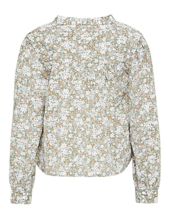 Serenity Floral Shirt Khaki image 3