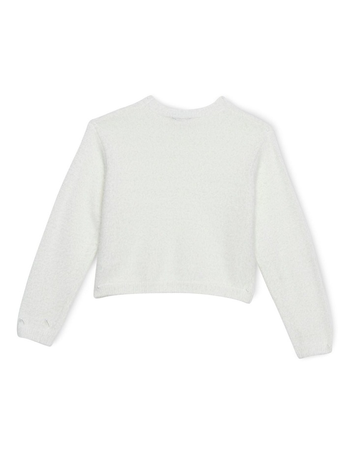 Cropped Fluffy Knit image 2