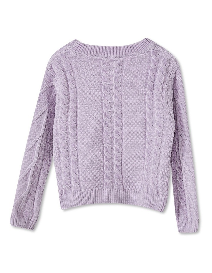 Stella Cable Knit Sweater image 2