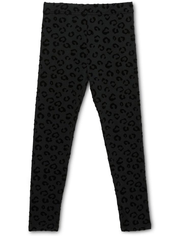Leopard Flocking Legging image 2